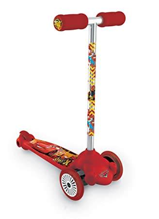 Mondo 18740 - Cars 2, Twist & Roll Patinete