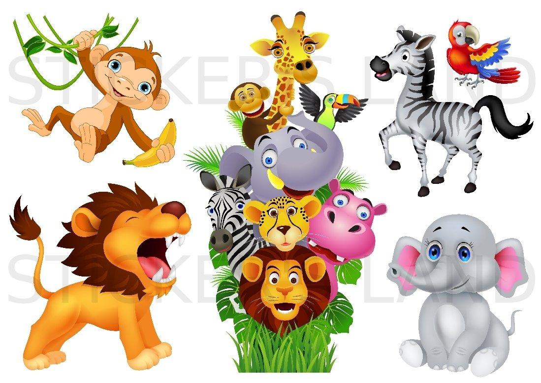 image animaux de la jungle