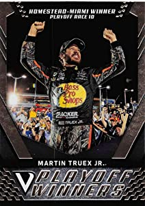 2018 Panini Victory Lane Racing #50 Martin Truex Jr. Bass Pro Shops-TRACKER Boats/Furniture Row Racing/Toyota Playoff Race Winner