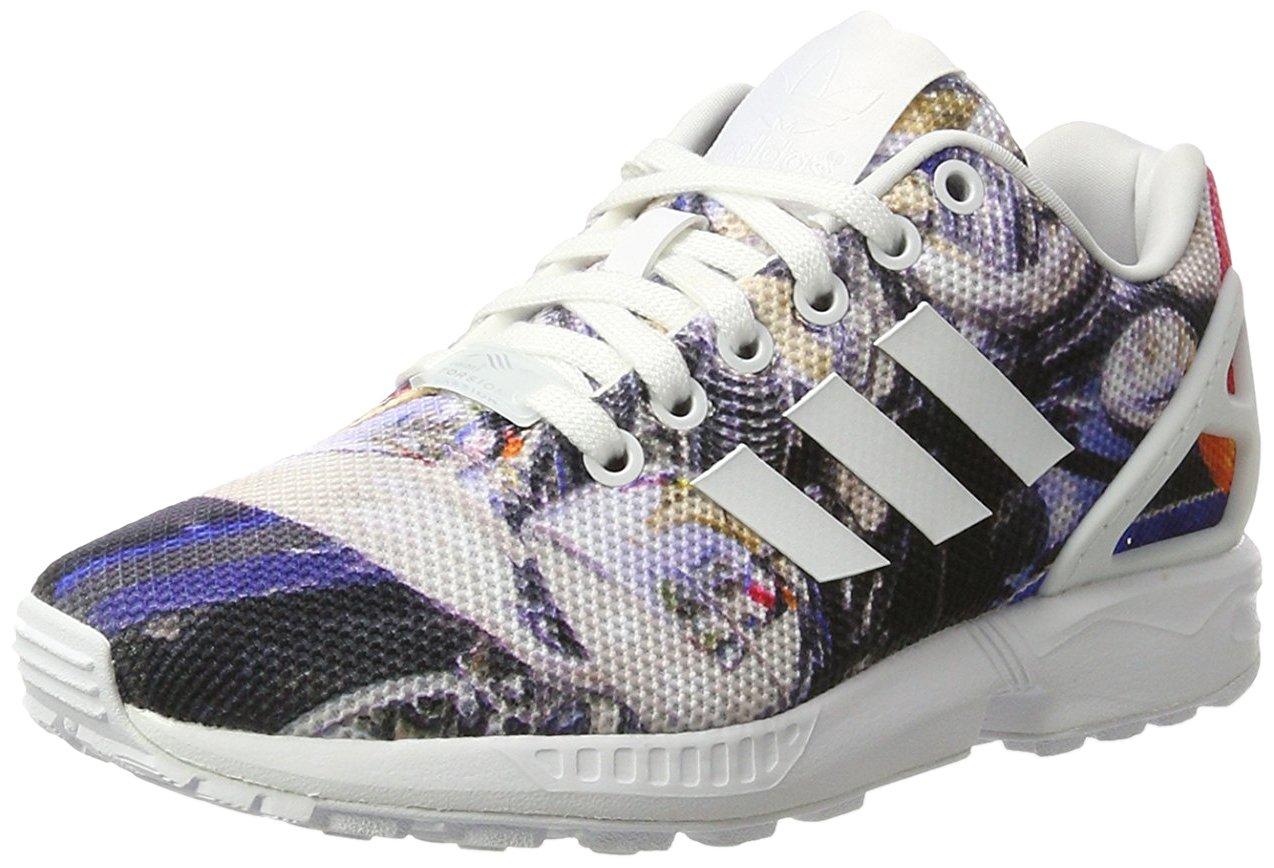 adidas Originals ZX Flux Unisex Erwachsene Sneakers Bunt