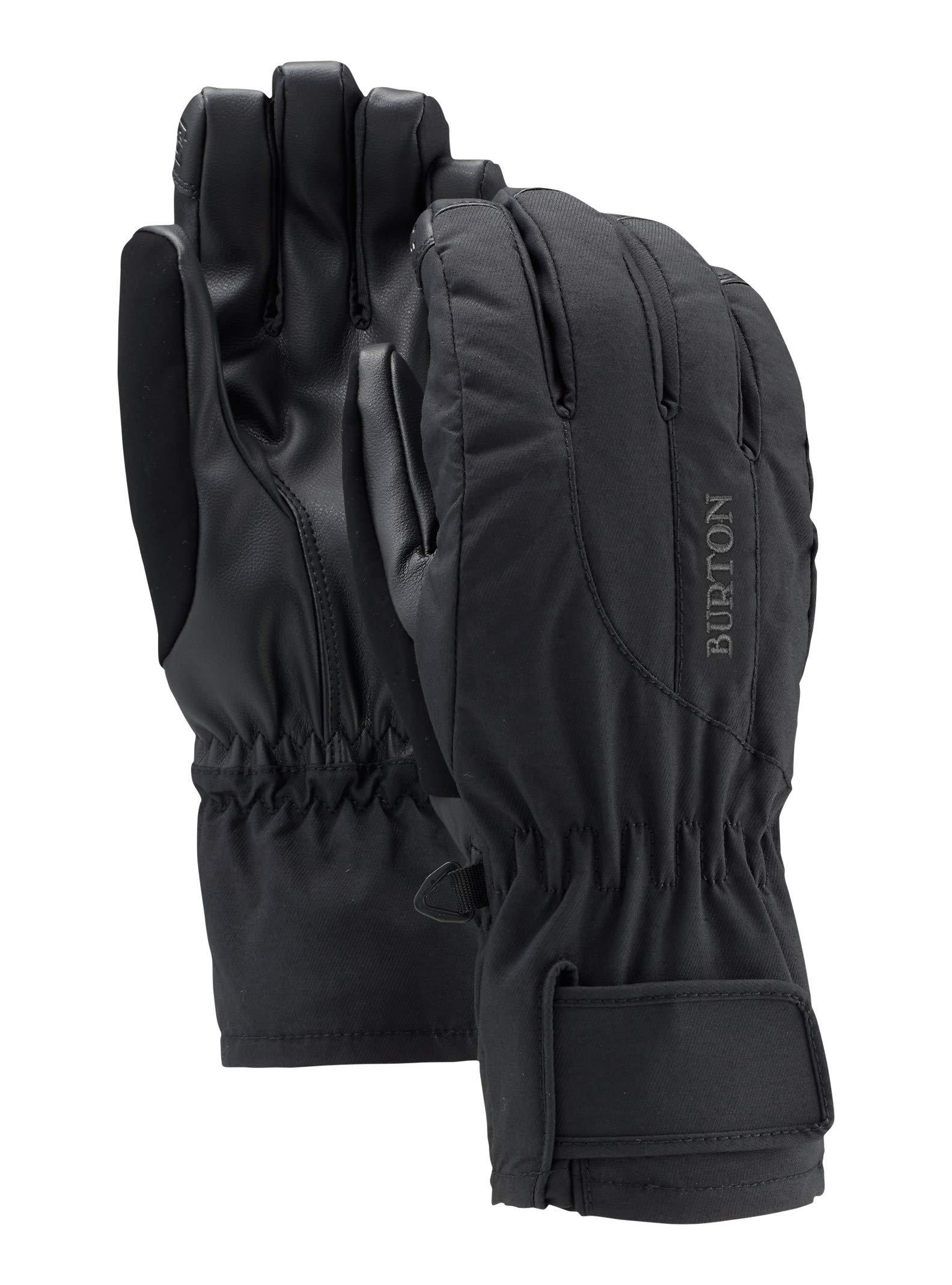Burton Women's Profile Under Gloves, True Black, X-Small