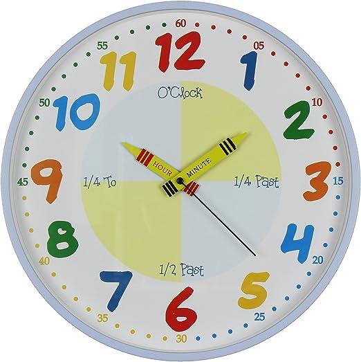 reloj de pared infantil reloj de pared para niños