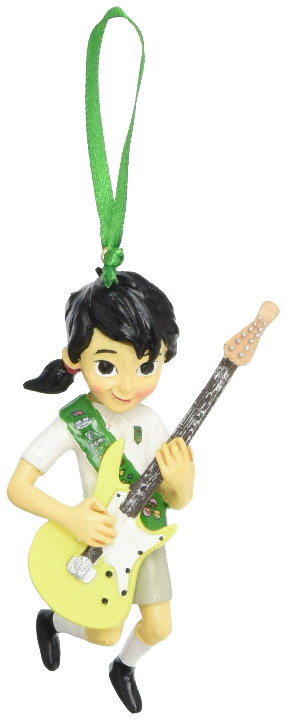Department 56 Girl Scouts Junior Musician Hanging Ornament