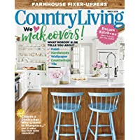 1-Year (10 issues) of Country Living Magazine Subscription