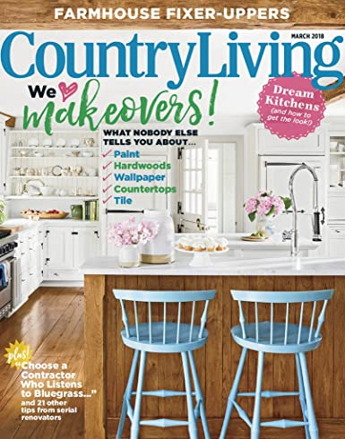 Tremendous Country Living Amazon Com Magazines Interior Design Ideas Inesswwsoteloinfo