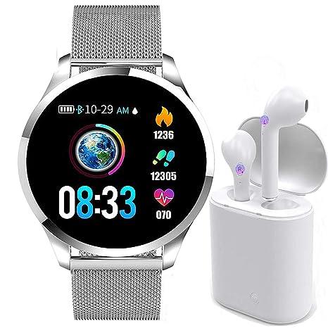 Smartwatch, Reloj Inteligente Mujer Hombre Pulsera de Actividad ...