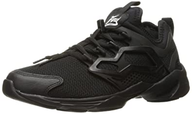 9374fedec Reebok Men s Fury Adapt Fashion Sneaker Black White