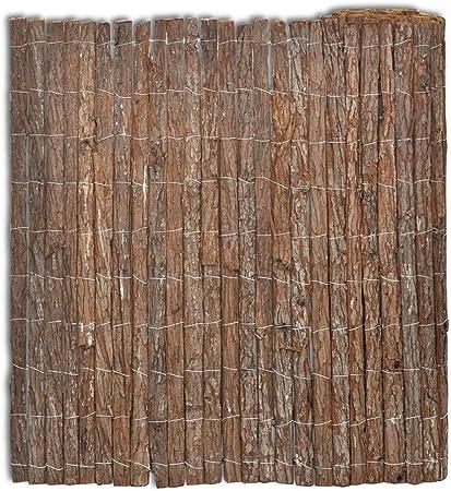 vidaXL Valla Cortezas de Arboles 400x150cm Cercado Separador Protección Patio: Amazon.es: Hogar