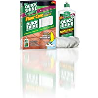 Quick Shine Starter Kit Contains One 16-Ounce Floor Finish and One Microfiber Bonnet
