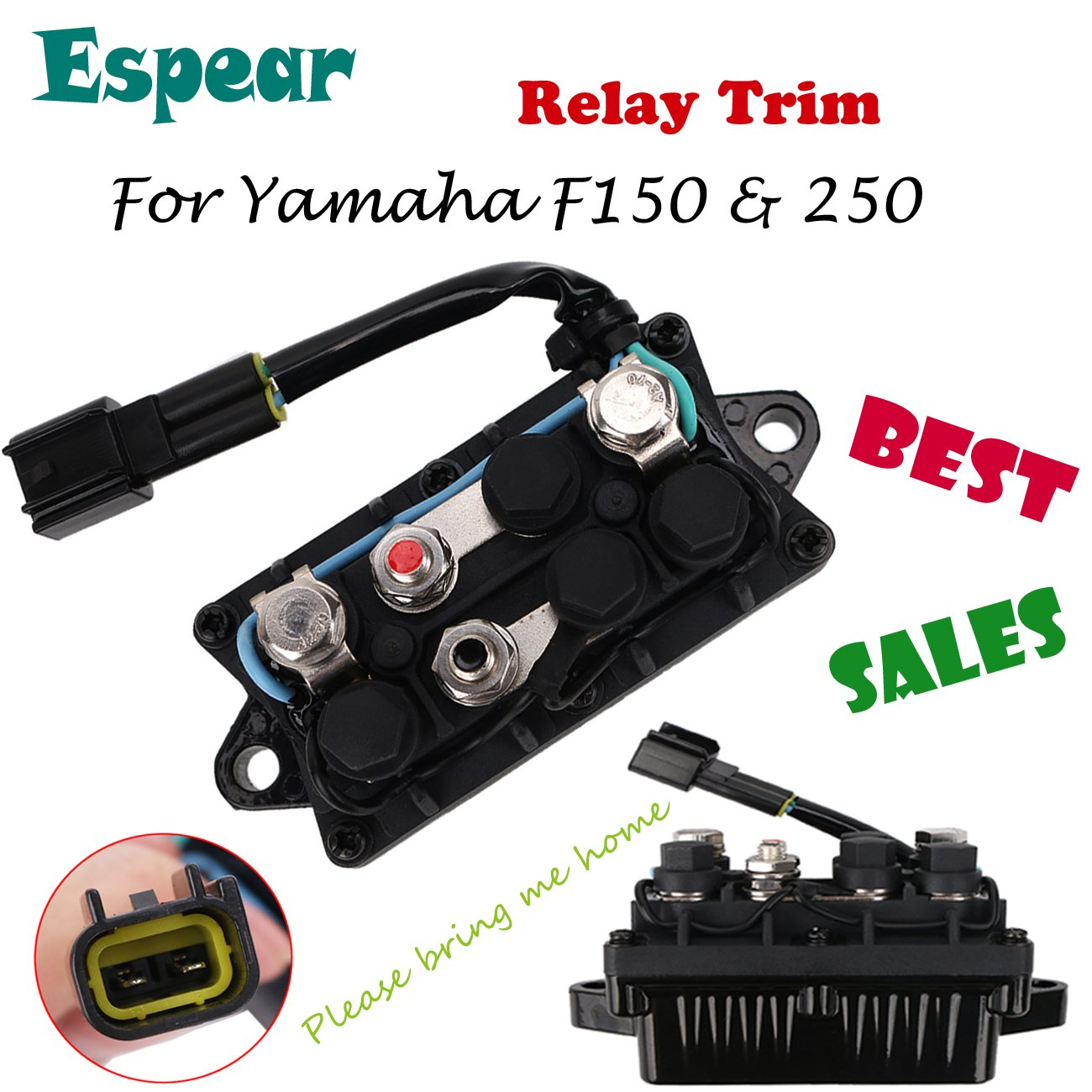 Fits YAMAHA F150 /& 250 F225 OUTBOARD TRIM RELAY Replaces Part #63P-81950-00-00