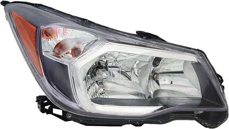 TYC 20-9122-00-9 Subaru Left Replacement Head Lamp