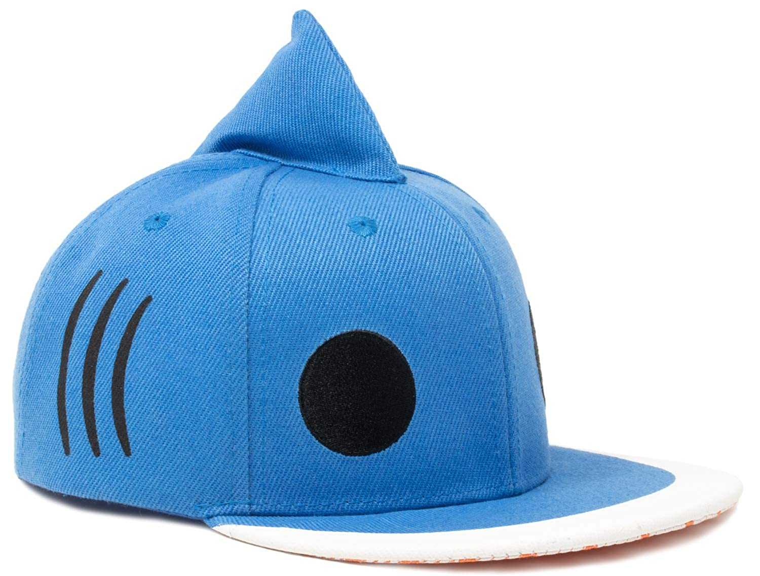 Kid's Sharky Hat | Children's Shark Fin Baseball Cap Boy Girl Child Fun Animal Blue
