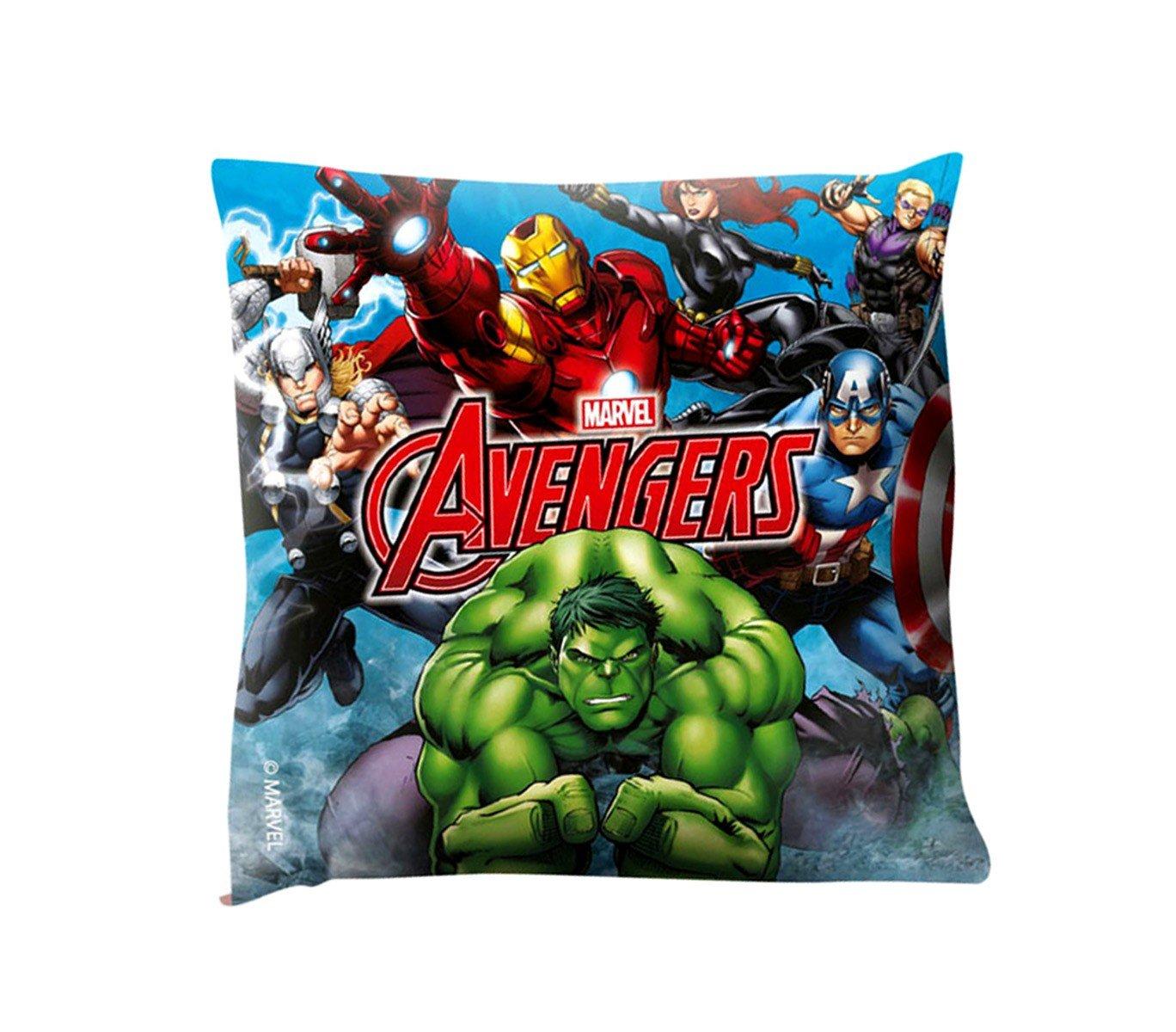 MEDIAWAVE Store MV16177 Morbido e Decorativo Cuscino Quadrato The Avengers 40x40 cm