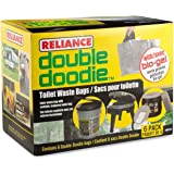 Reliance Double Doodie Waste Bags with Bio-Gel - Six Pack