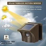 1/2 Mile Long Range Solar Wireless Driveway Alarm