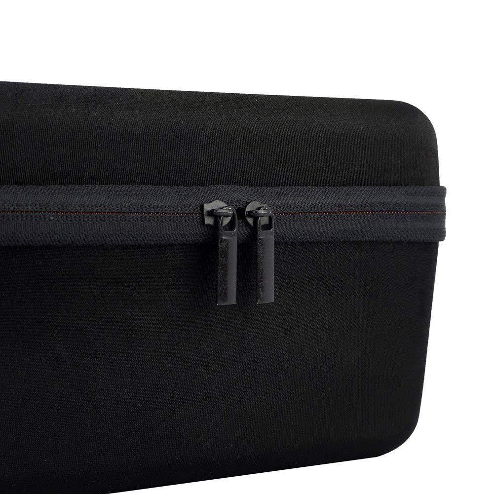 XB31 Bolsa de Mano de Viaje de Altavoz Bluetooth reemplazo de Cierre de Cremallera roja Caja de cascara Dura REFURBISHHOUSE Caja de tranporte portatil para Sony XB30