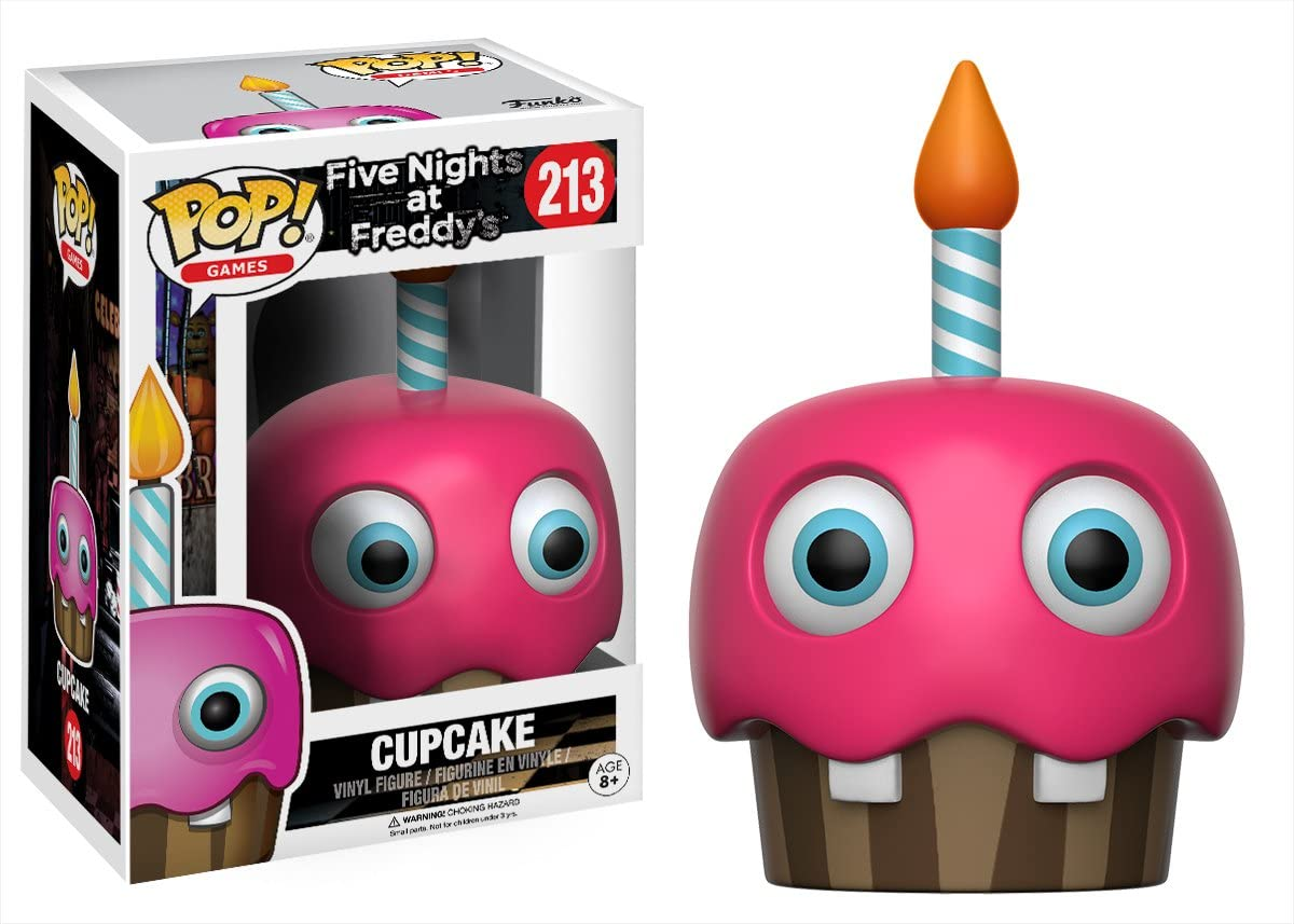 Funko POP Games: Five Nights at Freddys - Cupcake (Styles May Vary)