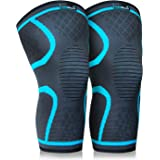 Keenhealth Compression Knee Brace - Knee Sleeve Pain Relief - for Arthritis, ACL and MCL - Support for Gym, Running…