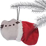GUND Pusheen Stocking Full Bodied Plush Stuffed Animal Holiday Ornament