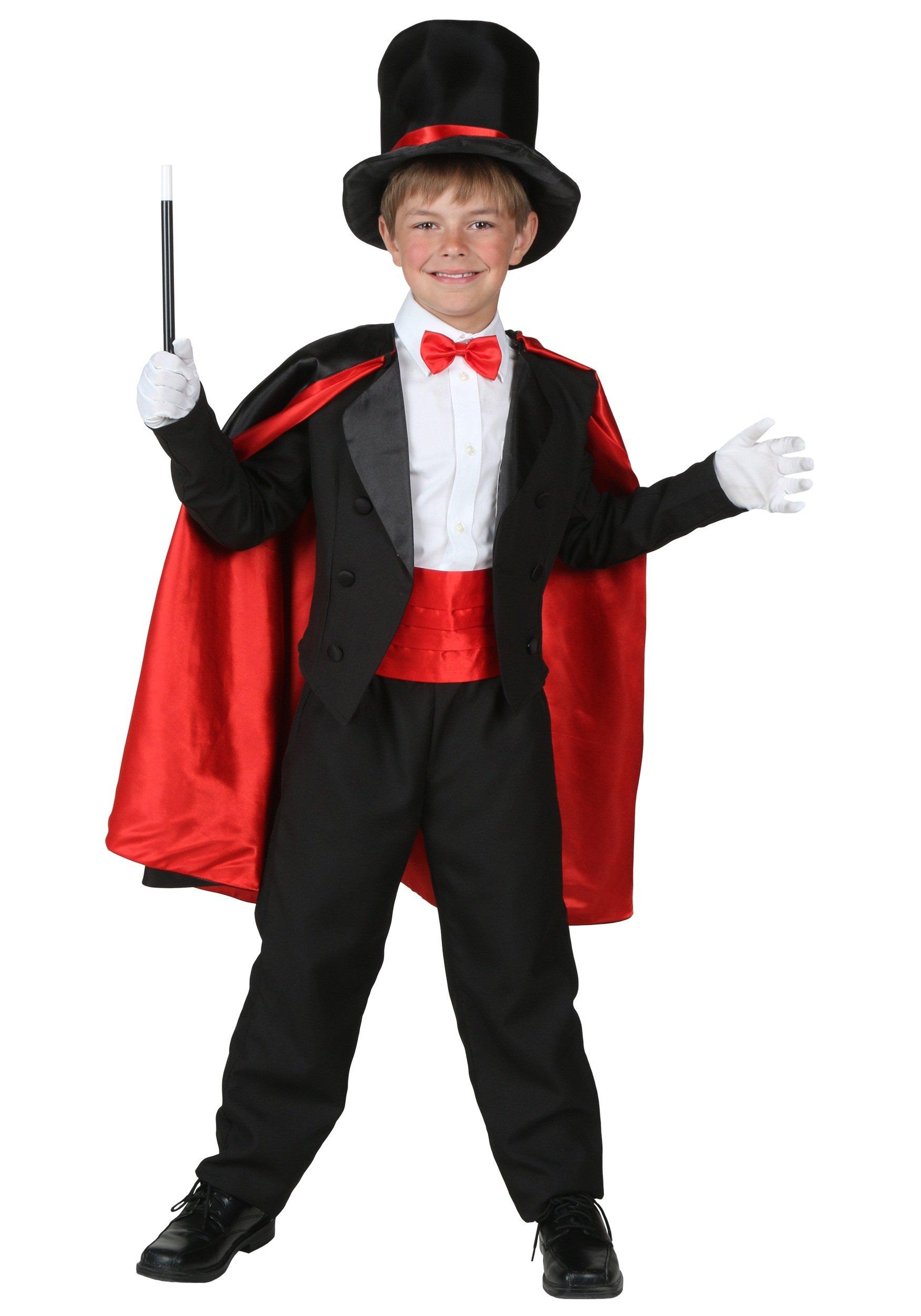 Child Magician Costume Large