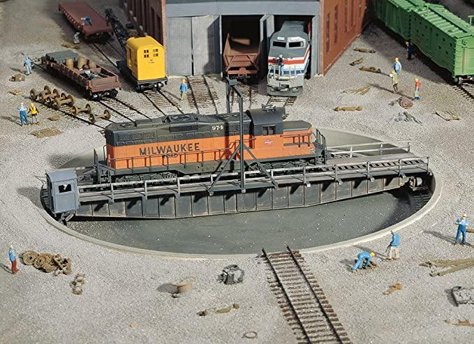Tremendous Amazon Com Walthers Cornerstone Series174 Ho Scale 90 Turntable Wiring Cloud Hisonuggs Outletorg