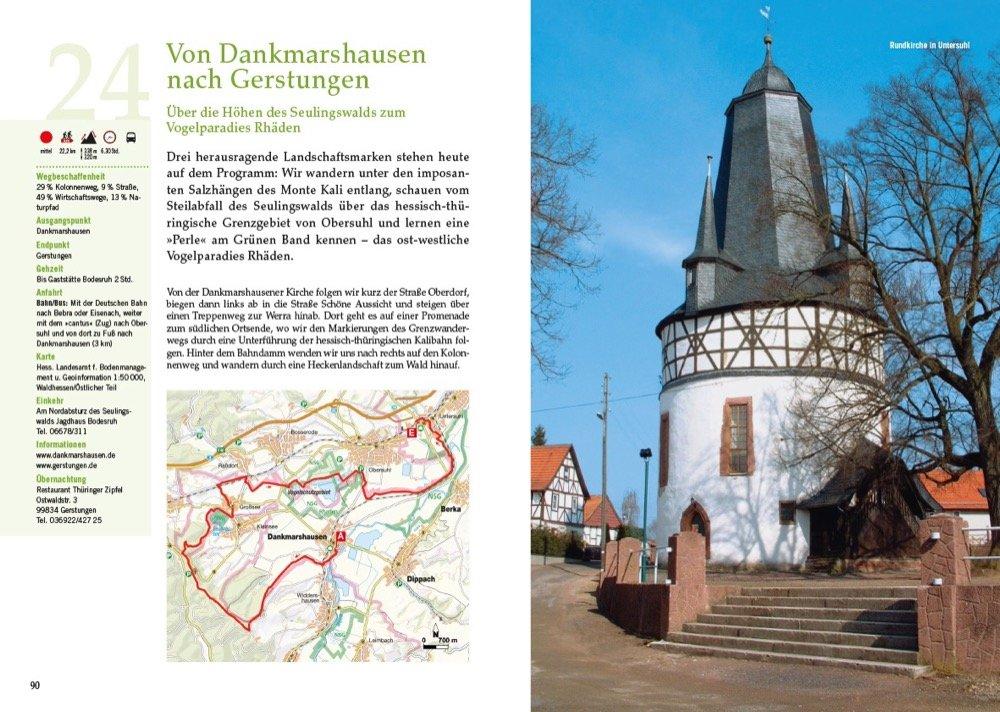Outdoor Küche Buch : Wandern in deutschland u2013 das grüne band als fernwanderweg: 1400 km