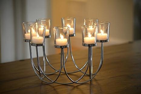 centre de table de nol porte bougies chauffe plat - Centre De Table Bougie