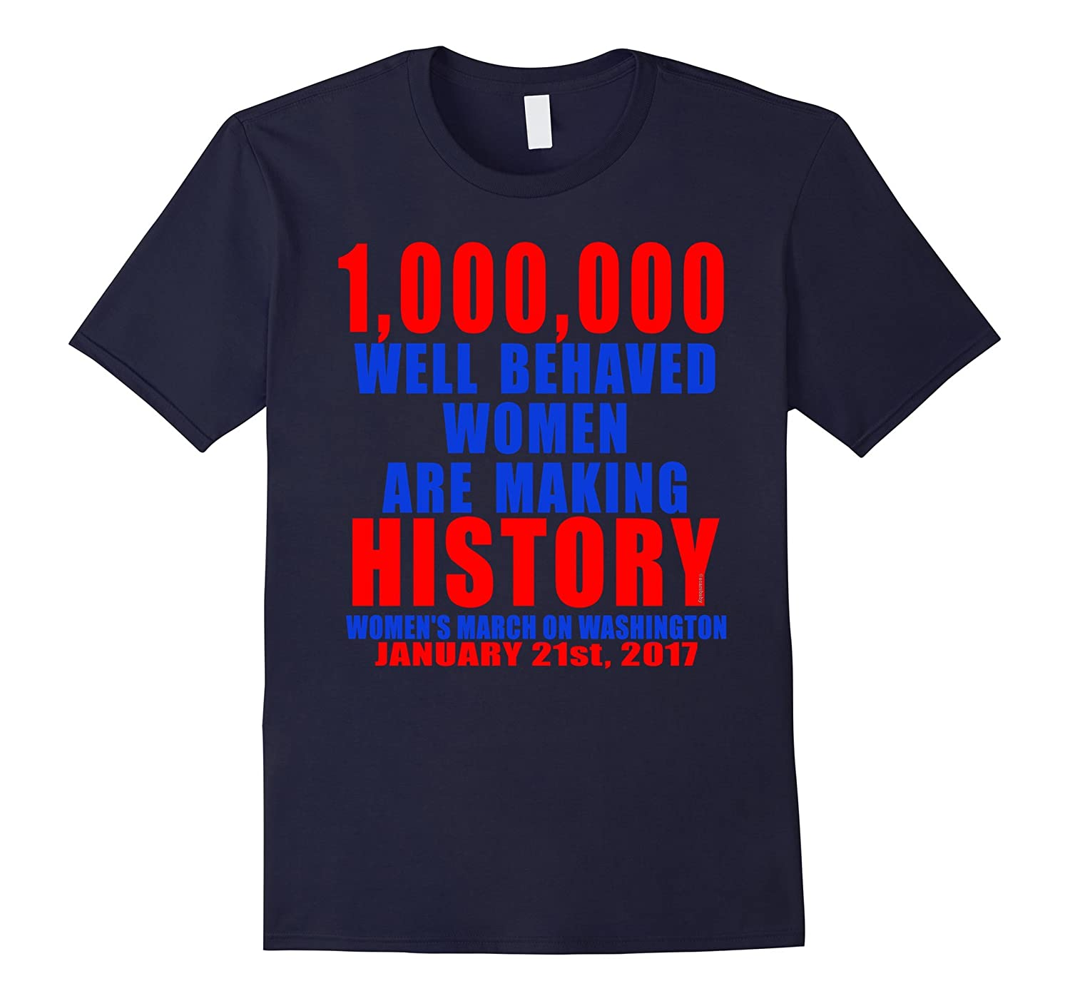 1000000 Women Making History Tshirt-Art