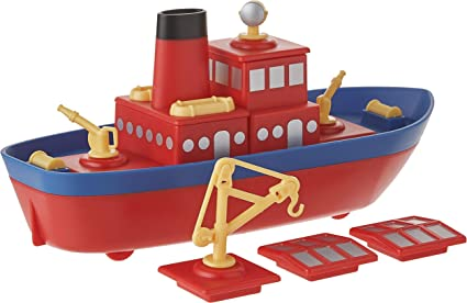 Educational Learning Diecast Car Toy  Truck /& Tugboat for Boys Girls