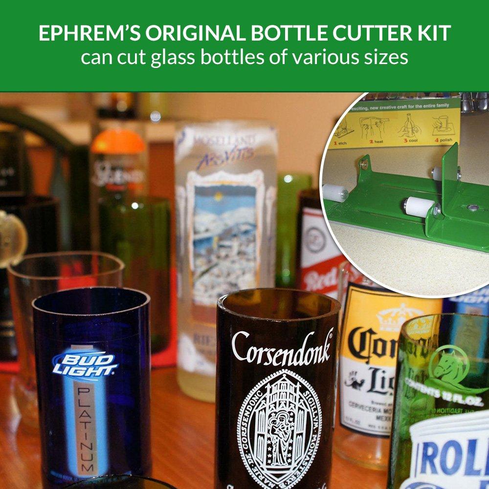 Glass Bottle Cutter Machine Glass Cutter for Crafts - Thick Glass Cutter for Beer Bottles and Wine Bottles - Glass Bottle Cutter Kit, Perfect Tools for ...