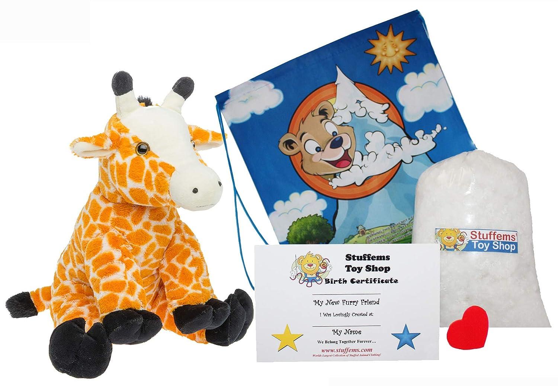 Amazon Com 15 Giraffe Make Your Own No Sew Stuffed Animal Kit W