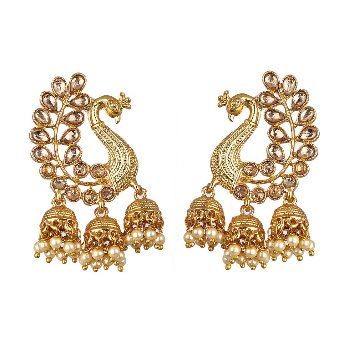 Zeneme Earrings for women stylish Jewellery Traditional