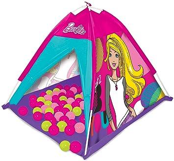 barbie casa de campaa con pelotas de colores