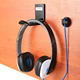 Headphone Stand Hanger Wall Mount - Pack of 2