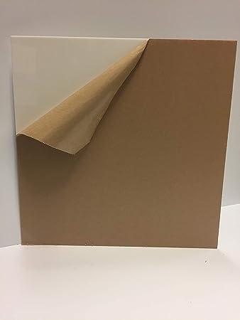 Amazon Com White Plexiglass Acrylic Sheet 2447 1 8 Thick 11 7 8 X 23 7 8 Office Products
