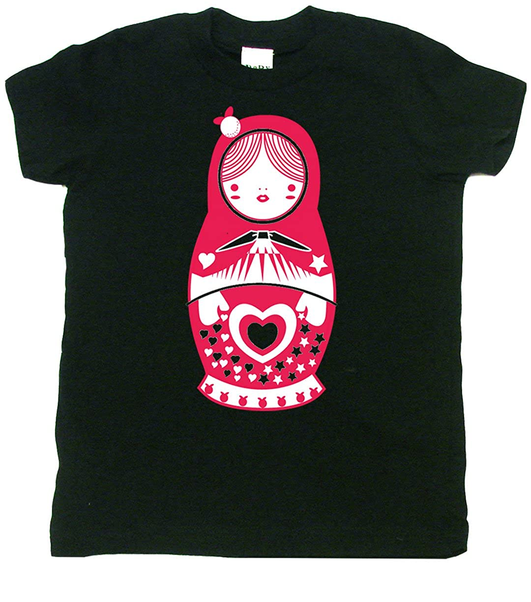 Cute Baby Gift Matryoshka Doll Cute Toddler Clothes Cute Boy Or Girl T-Shirts