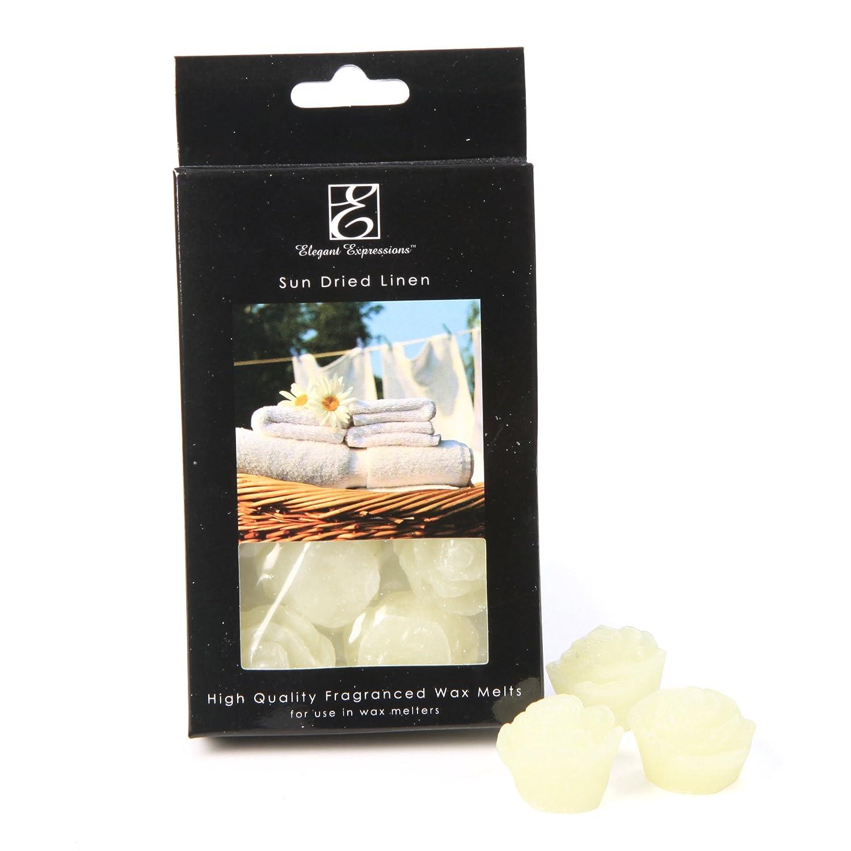 エレガントな式Sun Dried Linen Fragrance Tarts、1-ounce B00MILGFLW