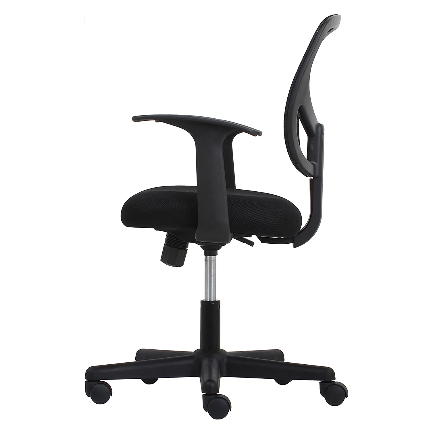 Essentials Swivel Mid Back Mesh Task Chair with Arms Ergonomic