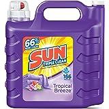 Sun Ultra Liquid Laundry Detergent, Tropical Breeze, 250 Ounces, 166 Loads