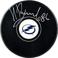 $89 » Nikita Kucherov Tampa Bay Lightning Autographed Hockey Puck - Autographed…