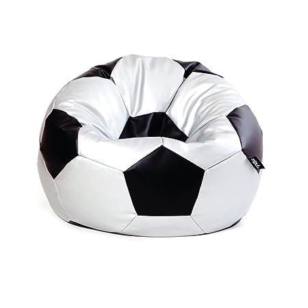 MiPuf - Puff Futbol Original - 90cm diámetro - Tejido Polipiel ...