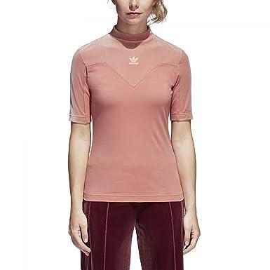 adidas Maglietta T-Shirt Donna Rosa CV9440-ROSA: Amazon.co ...