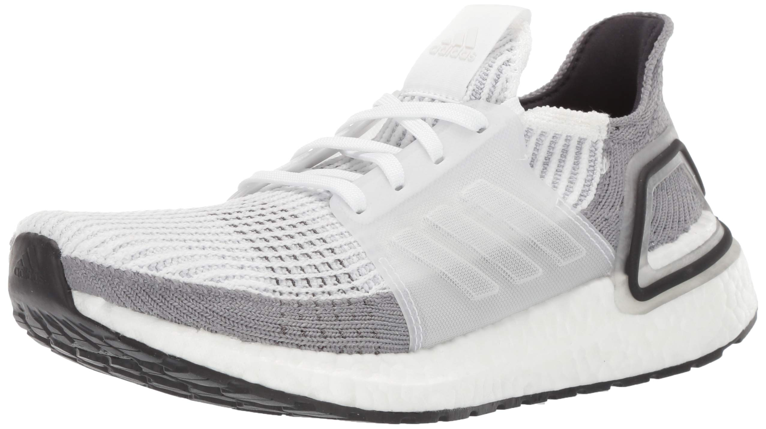 adidas Women's Ultraboost 19 Crystal White/Grey, 7.5 M US