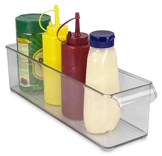Home Basics papelera de plástico nevera y congelador: Amazon.es: Hogar
