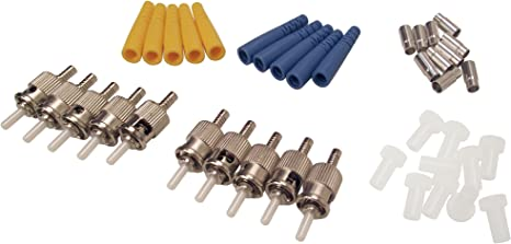 Multimode 10 Pack Shaxon FCLC-MM-10-B LC Fiber Optic Connectors