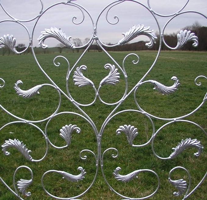 Pérgola enrejado pared rejilla Rose rejilla de enrejado Lisbao rbrg galvanizado: Amazon.es: Jardín