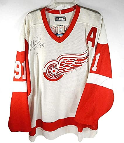 JSA COA Sergei Fedorov Autographed Signed Detroit Red Wings Puck