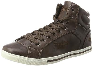 new style 901eb fb505 Dockers by Gerli Damen 27CH323-620300 Hohe Sneaker, (Braun ...