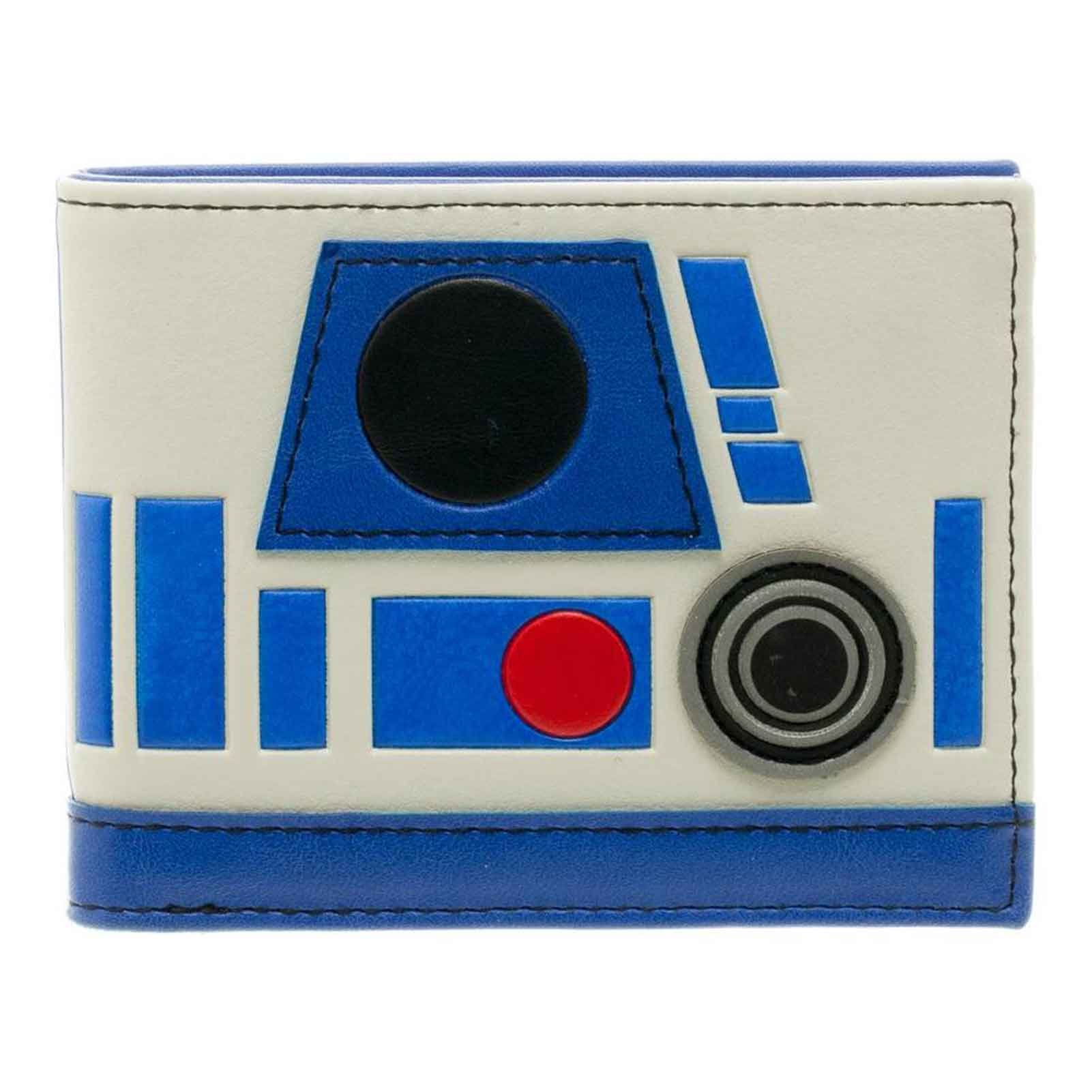 Star Wars Wallet R2d2 Helmet Logo Last Jedi Official Bifold by Star Wars Merch