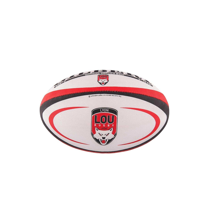 Gilbert Ballon Rugby Lyon (Lou) réplica T5